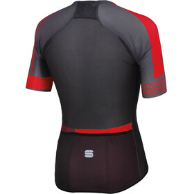 Sportful Bodyfit Pro 2.0 Light Jersey Men anthracite/black/red